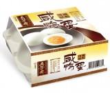 五芳斋四只装咸鸭蛋60g*4 浙江嘉兴特产优质 健康食品美味营养